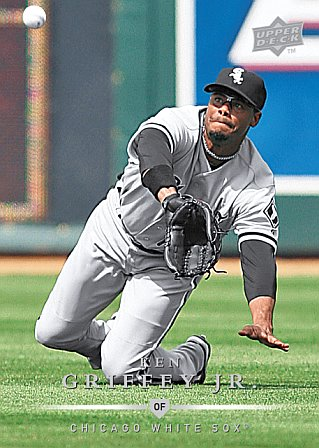 premium selection 298b3 6b01b Ken Griffey Jr.'s first White Sox cards coming next month ...