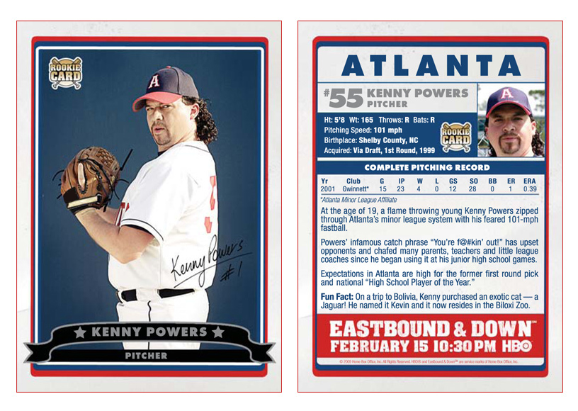 Do You Have Kenny Powers Rookie Card Beckett News