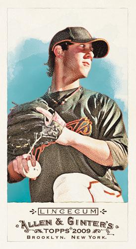 First Look 2009 Topps Allen Ginter Baseball Cards