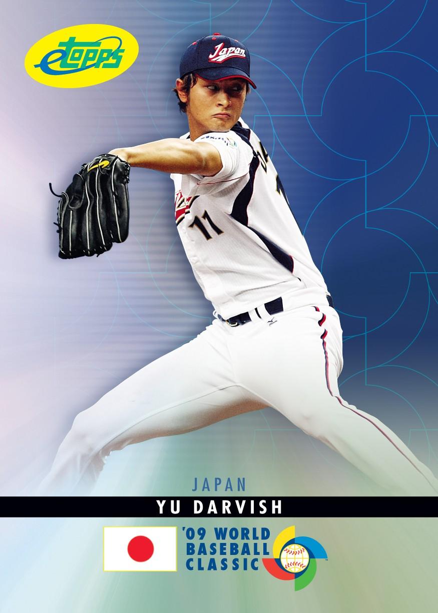 Topps Announces World Baseball Classic Etopps Cards