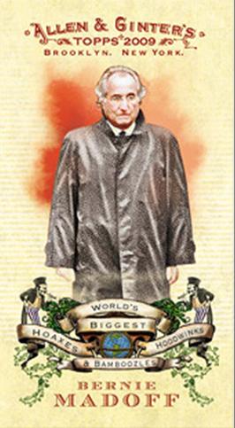 Allen Ginter Cancels The Bernie Madoff Card