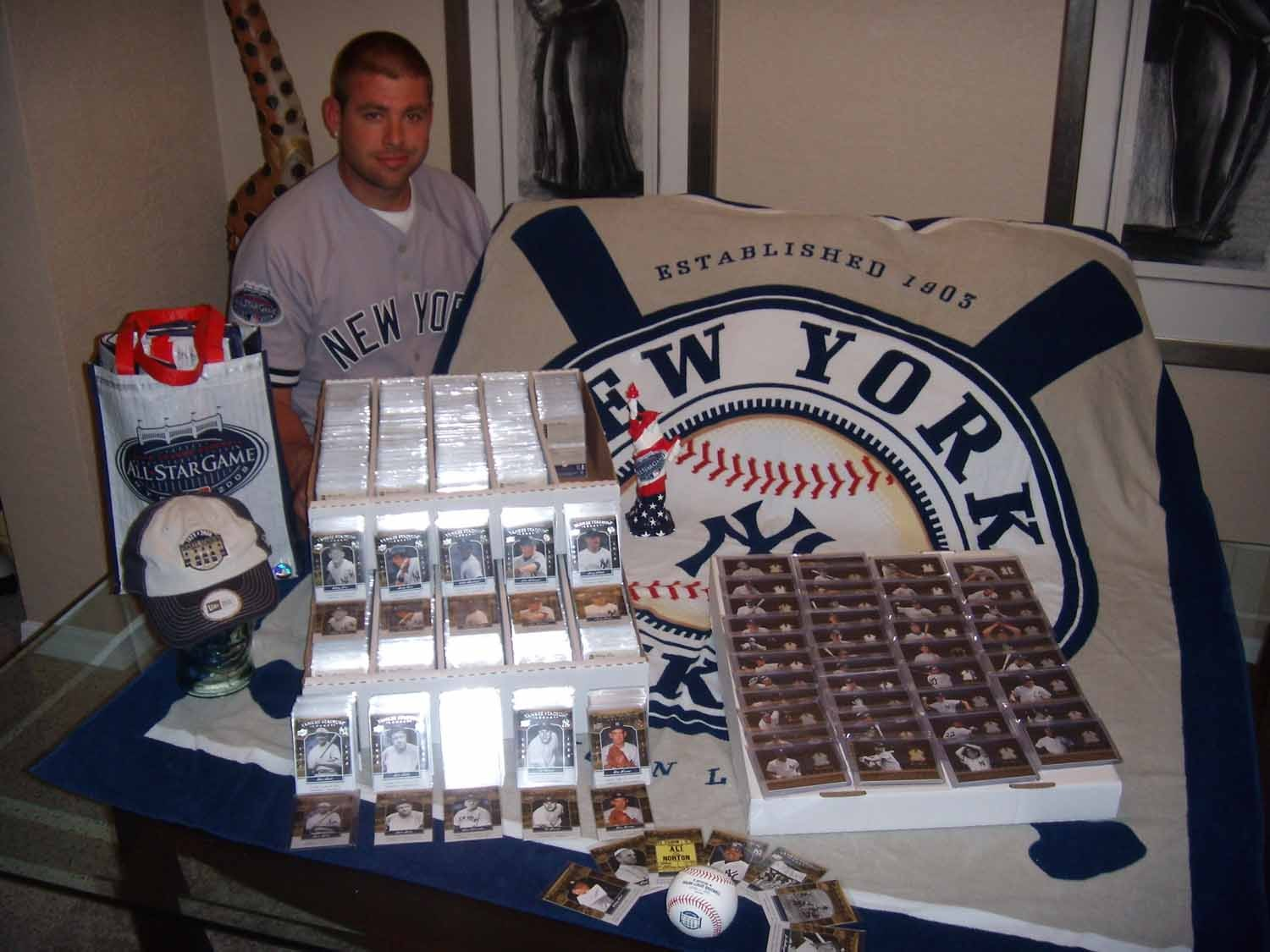 derek jeter house finished. Two more collectors completed