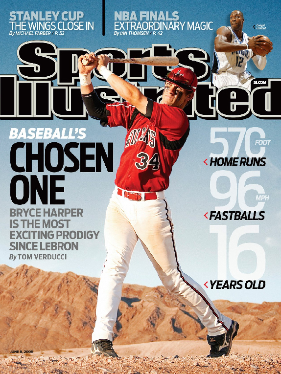 Resultado de imagen para bryce harper sports illustrated cover