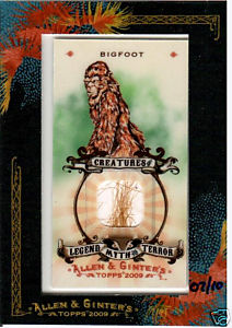Topps Announced The Short Printed Autographs Relics And Inserts List In Its 2009 Allen Ginter Baseball Set On Thursday