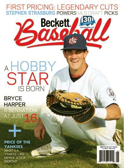 Bryce Harper One Of Two Covers For Beckett Baseball No 45 Beckett