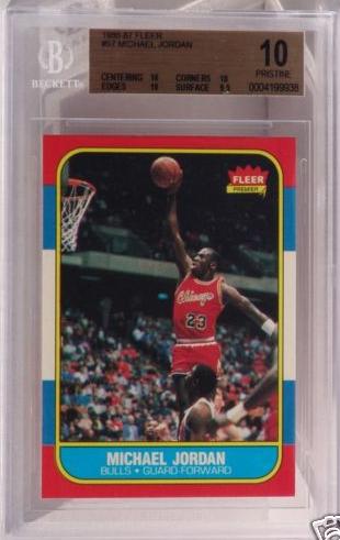 Perfect Michael Jordan Rookie Card Sells For 82000