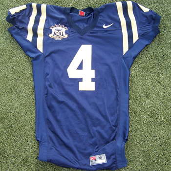 32eaa5332d6 Game-used Navy football jerseys hit auction block - Beckett News
