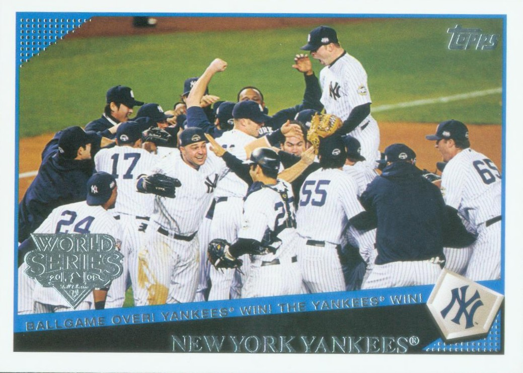 First Look 2009 Topps New York Yankees World Series Champions Set