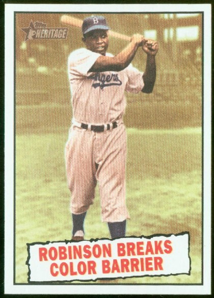 Jackie Robinsons Story Is Found On Countless Baseball Cards The